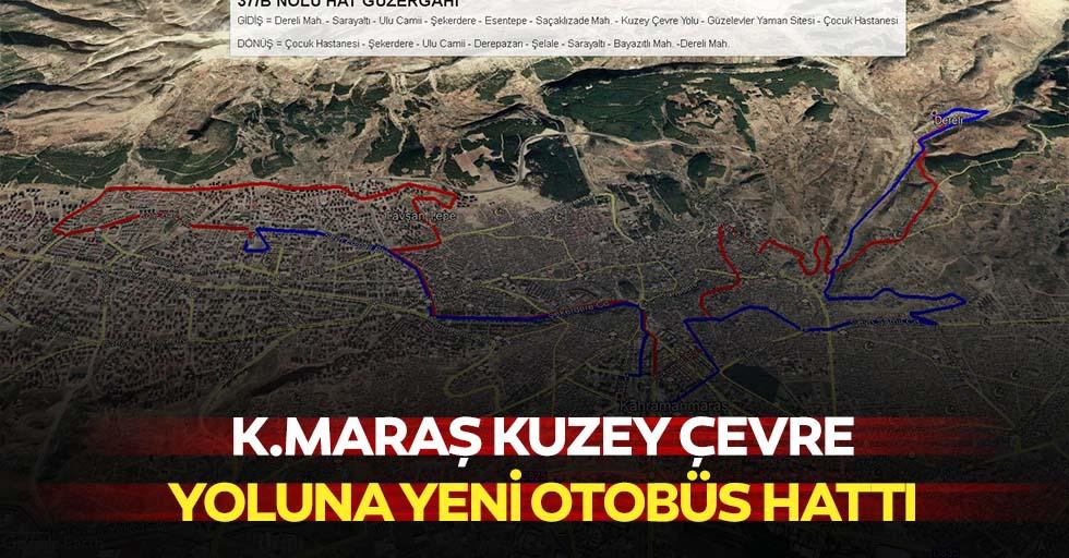 Kahramanmaraş'ta kuzey çevre yoluna yeni otobüs hattı