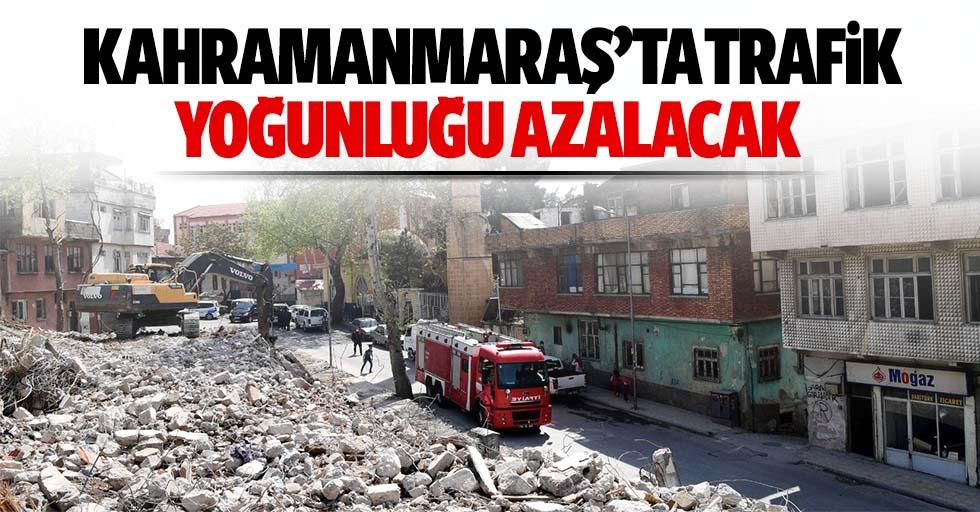 Kahramanmaraş'ta Trafik Yoğunluğu Azalacak