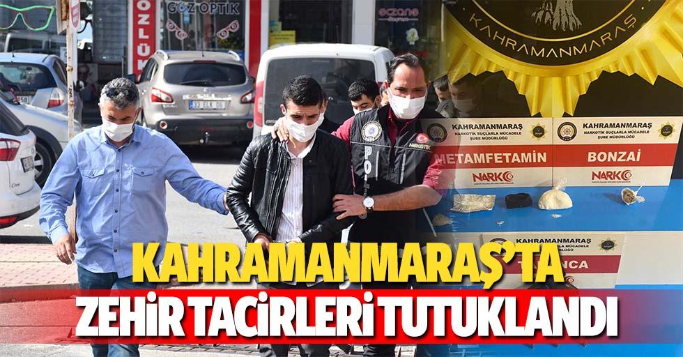 Kahramanmaraş'ta zehir tacirleri tutuklandı
