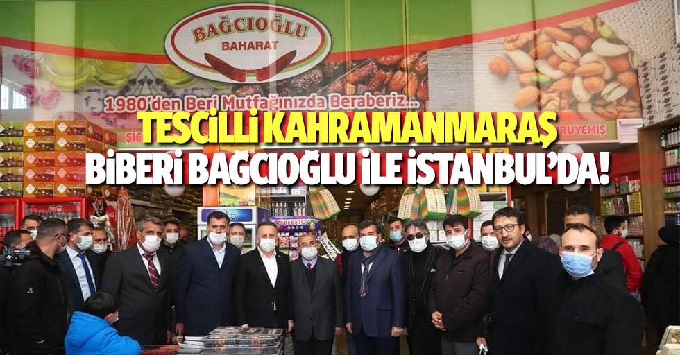 Tescilli Kahramanmaraş biberi Bağcıoğlu ile İstanbul'da!