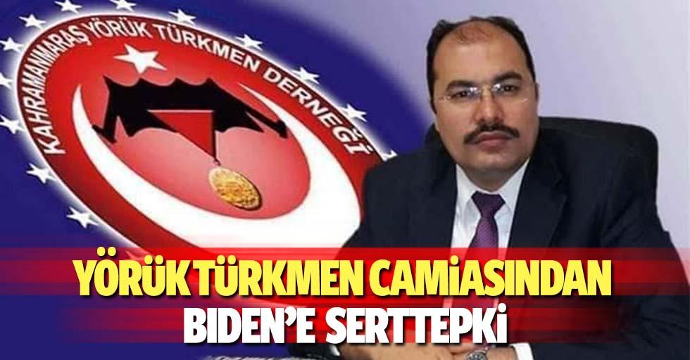 Yörük Türkmen camiasından Bıden'e sert tepki