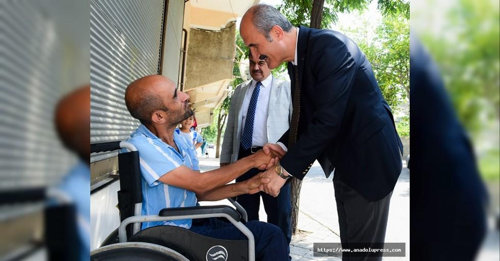 Başkan Okay'dan Engelliler Haftası Mesajı