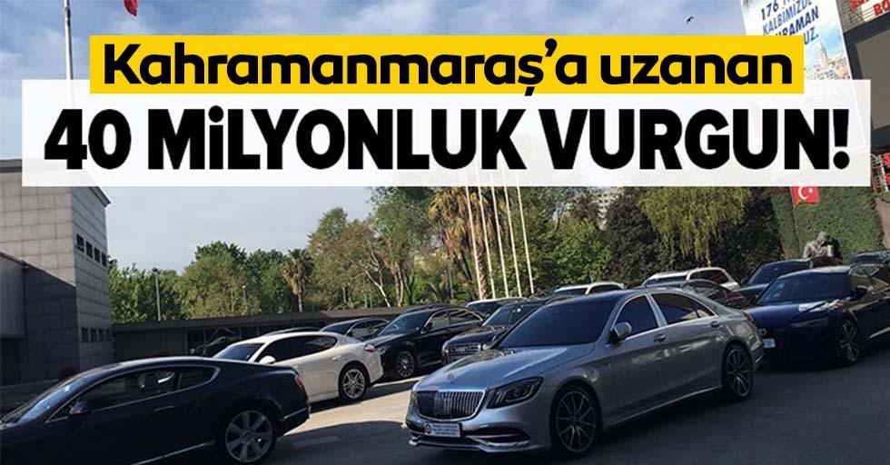 İstanbul Merkezli Kahramanmaraş ve 9 ilde lüks otomobil kaçakçılığı operasyonu