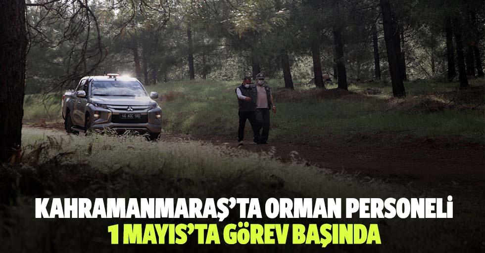 Kahramanmaraş'ta Orman Personeli, 1 Mayıs'ta Görev Başında