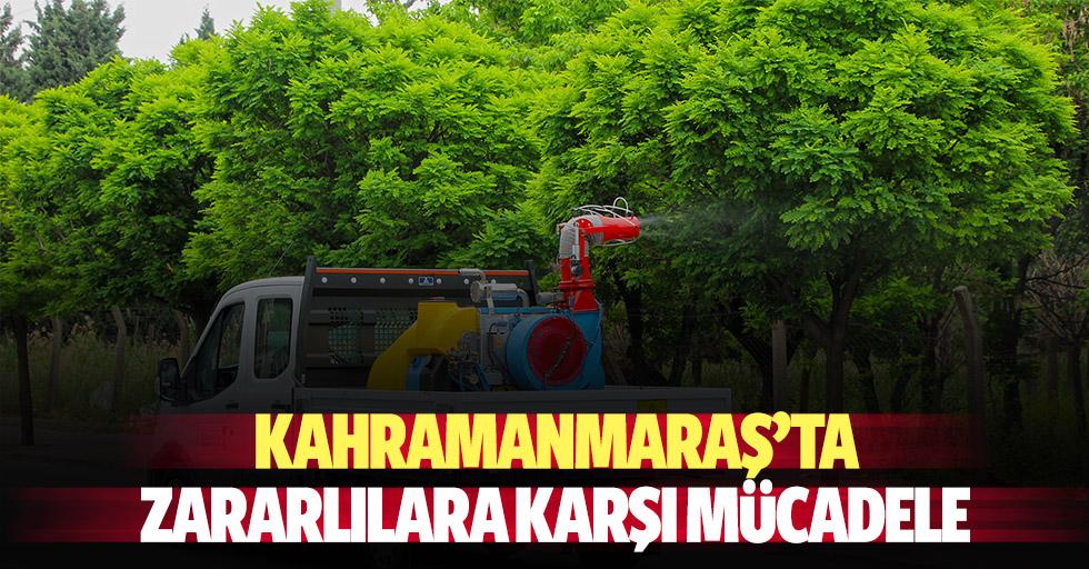 Kahramanmaraş'ta zararlılara karşı mücadele