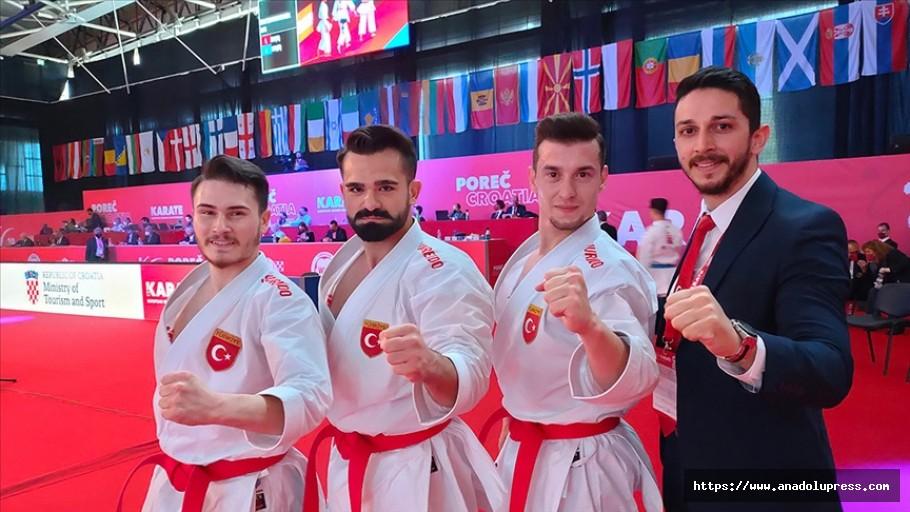 Karatede erkek kata milli takımı Avrupa şampiyonu oldu