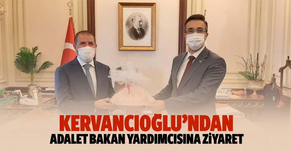Kervancıoğlu'ndan adalet bakan yardımcısına ziyaret