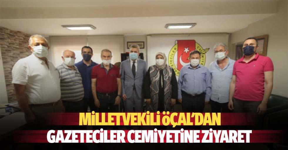 Öçal'dan Gazeteciler Cemiyetine Ziyaret