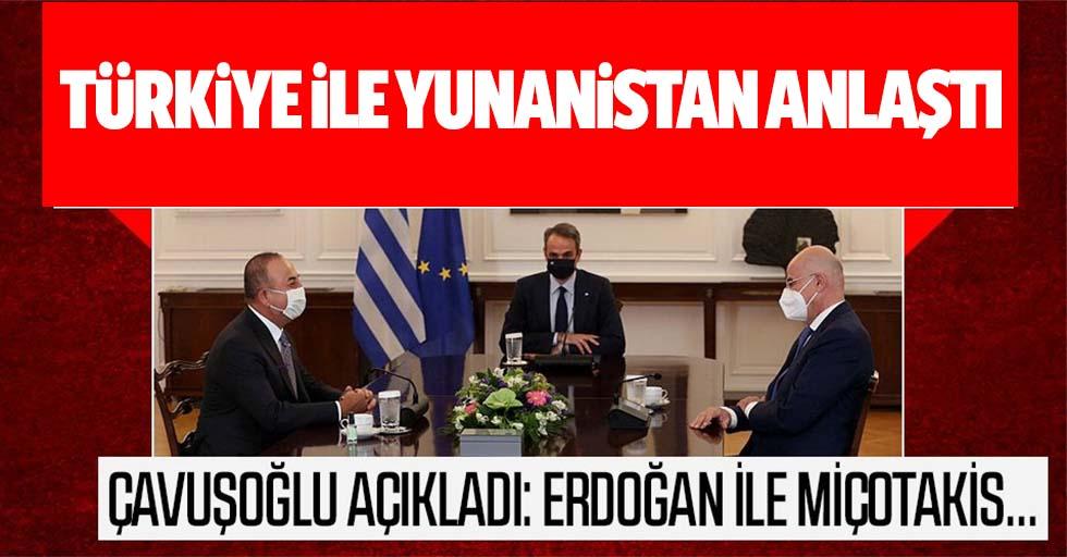 Türkiye İle Yunanistan Anlaştı