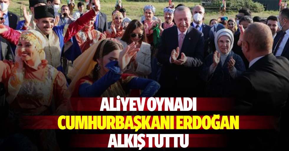 Aliyev Oynadı, Cumhurbaşkanı Erdoğan Alkış Tuttu