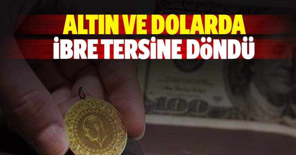 Altın Ve Dolarda İbre Tersine Döndü