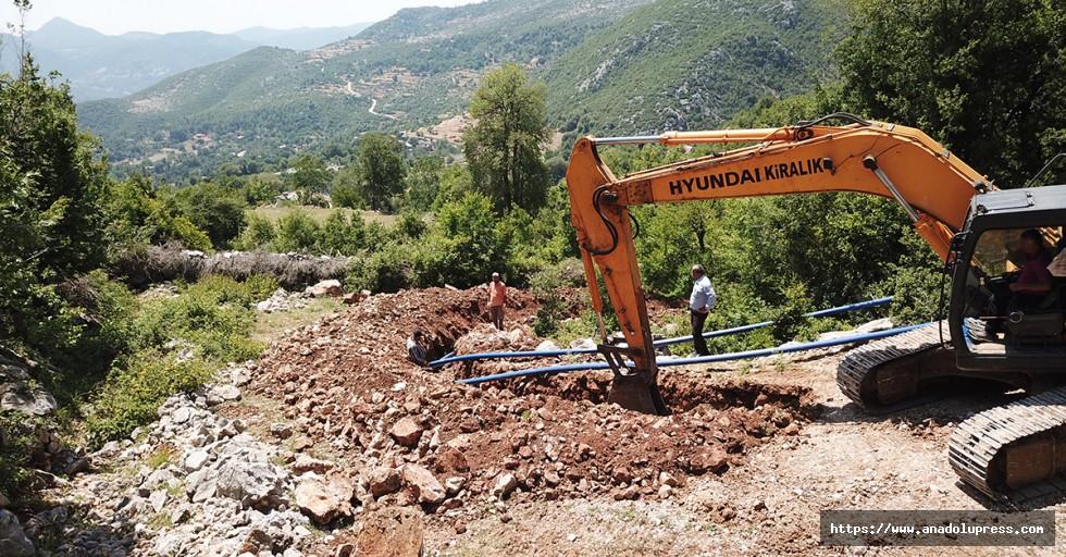 Andırın'da içme suyu çalışmaları başladı