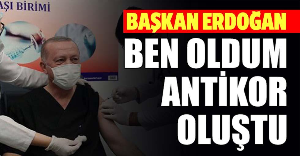 Cumhurbaşkanı Erdoğan'dan aşı tavsiyesi