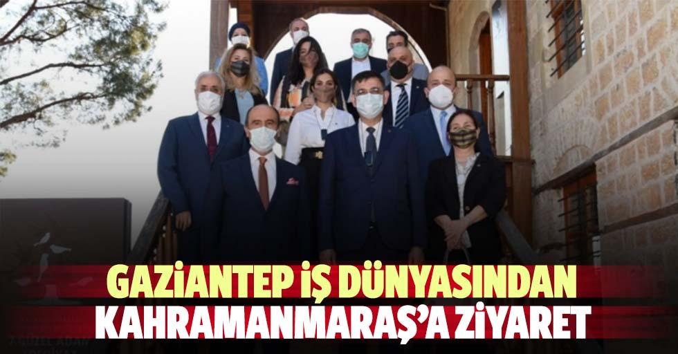 Gaziantep iş dünyasından Kahramanmaraş'a ziyaret
