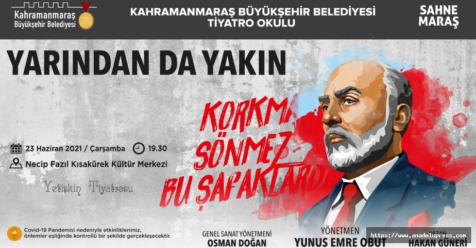 Genç Oyuncular Mehmet Akif'i Anlatacak