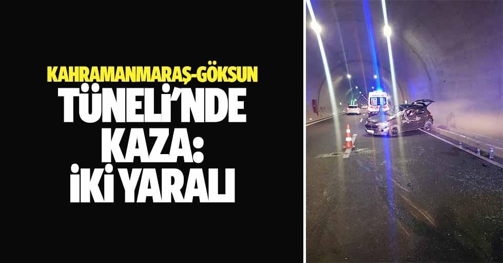 Kahramanmaraş-Göksun Tüneli'nde Kaza: 2 Yaralı