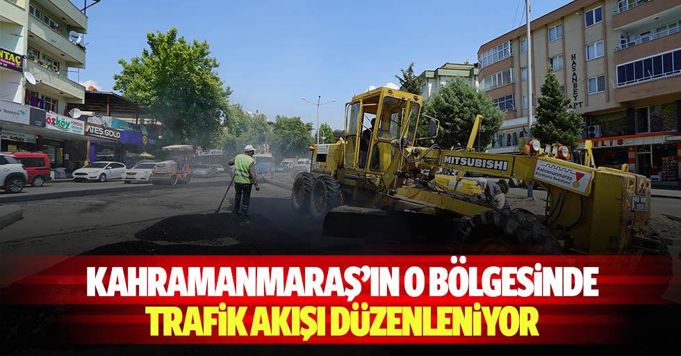 Kahramanmaraş'ın o bölgesinde trafik akışı düzenleniyor