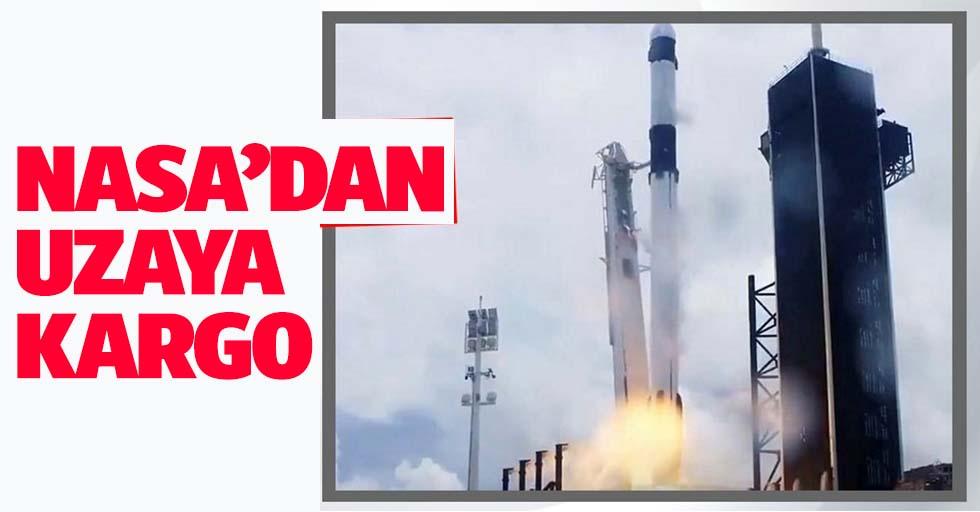 NASA uzaya kargo taşıyan roketini fırlattı!