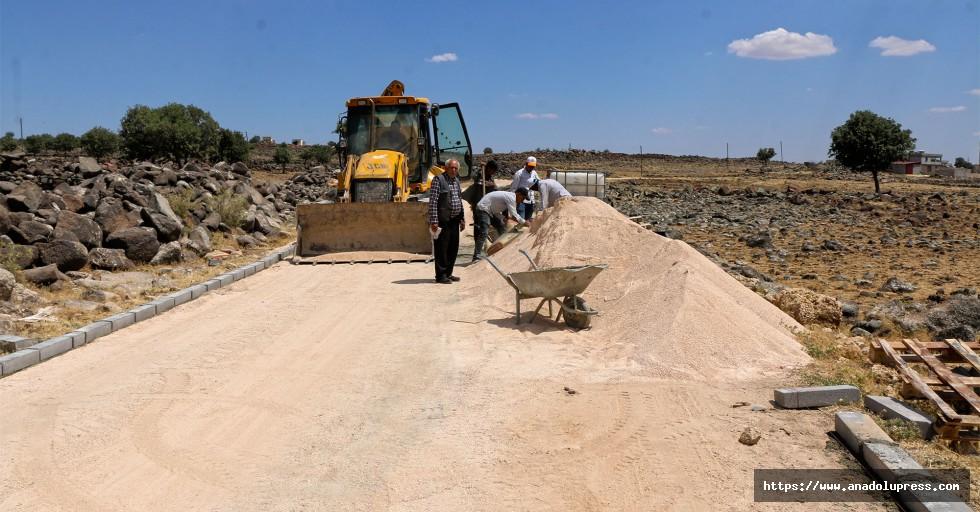 Pazarcık'ta Ulaşım Yatırımları Sürüyor
