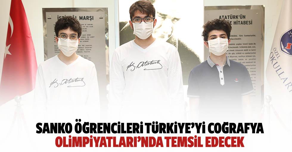 SANKO öğrencileri Türkiye'yi coğrafya olimpiyatları'nda temsil edecek