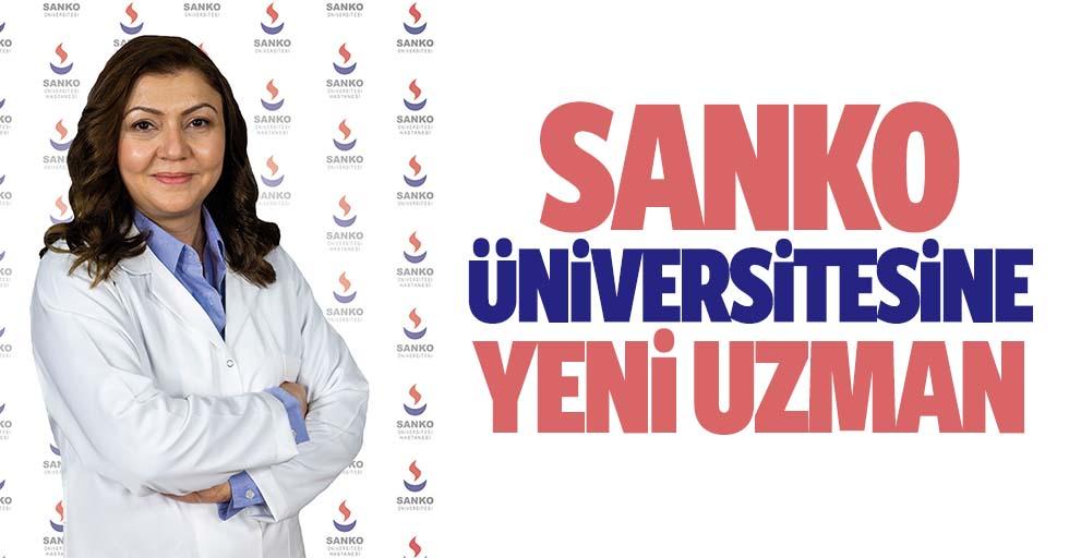 SANKO Üniversitesine yeni uzman
