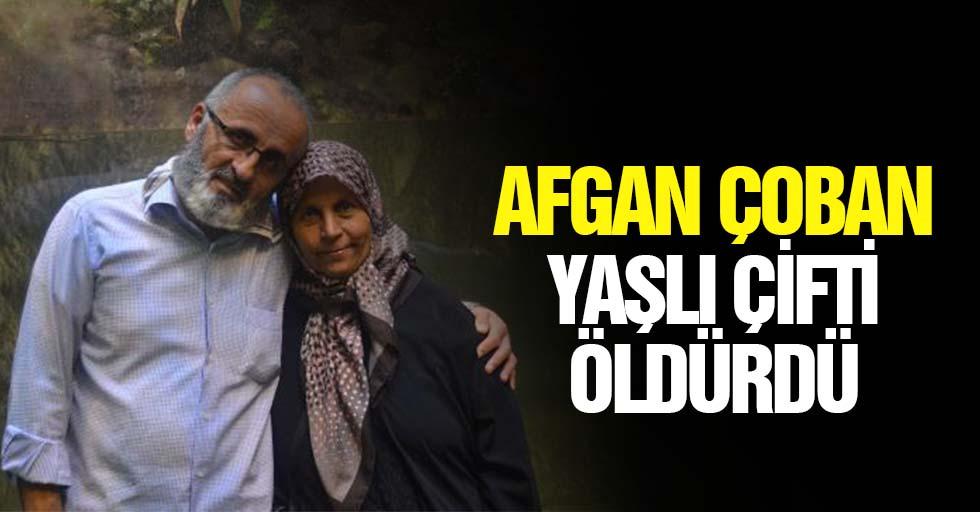Afgan Çoban Yaşlı Çifti Öldürdü
