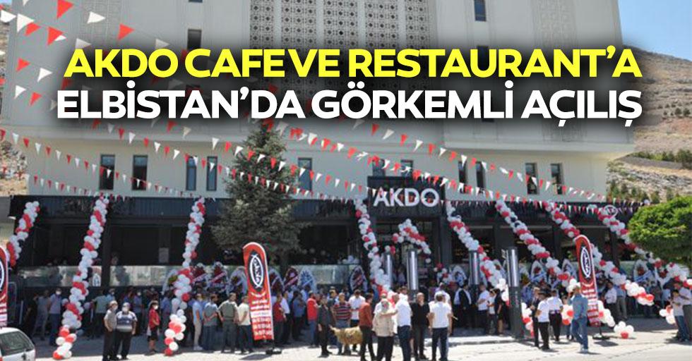 Akdo Cafe ve Restaurant'a Elbistan'da Görkemli Açılış