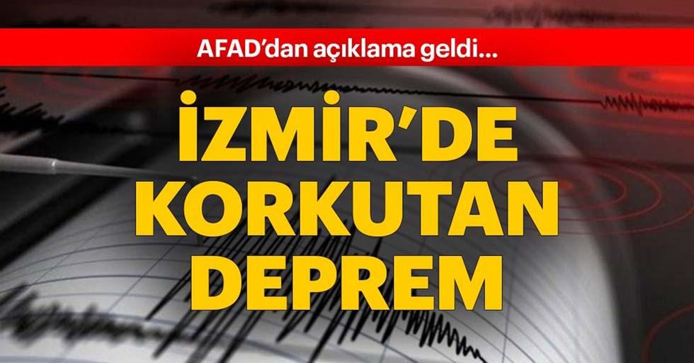 İzmir'de 4.2 büyüklüğünde deprem!