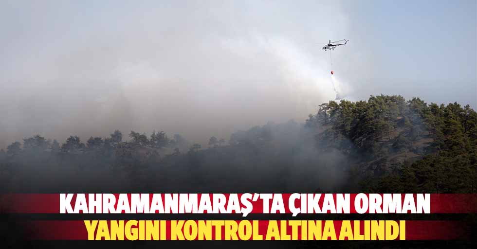 Kahramanmaraş'ta çıkan orman yangını kontrol altına alındı