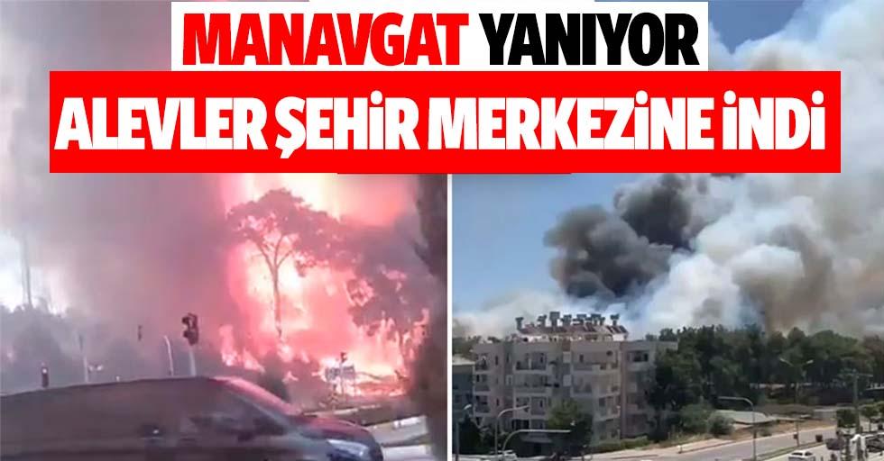 Manavgat'ta 4 ayrı noktada orman yangını çıktı! Alevler yerleşim yerlerine ulaştı, devlet hastanesi boşaltıldı