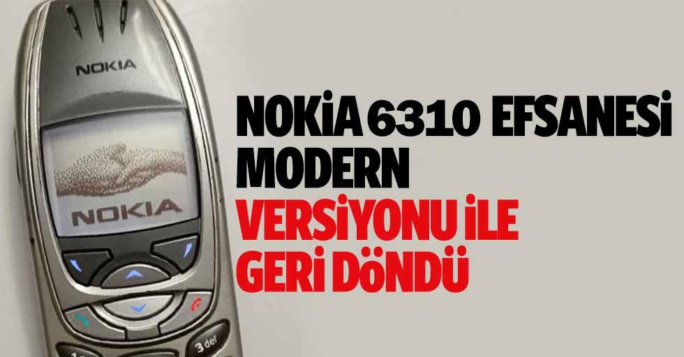 Nokia 6310 Efsanesi Modern Versiyonu İle Geri Döndü