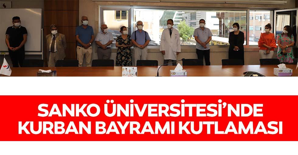 SANKO Üniversitesi'nde kurban bayramı kutlaması