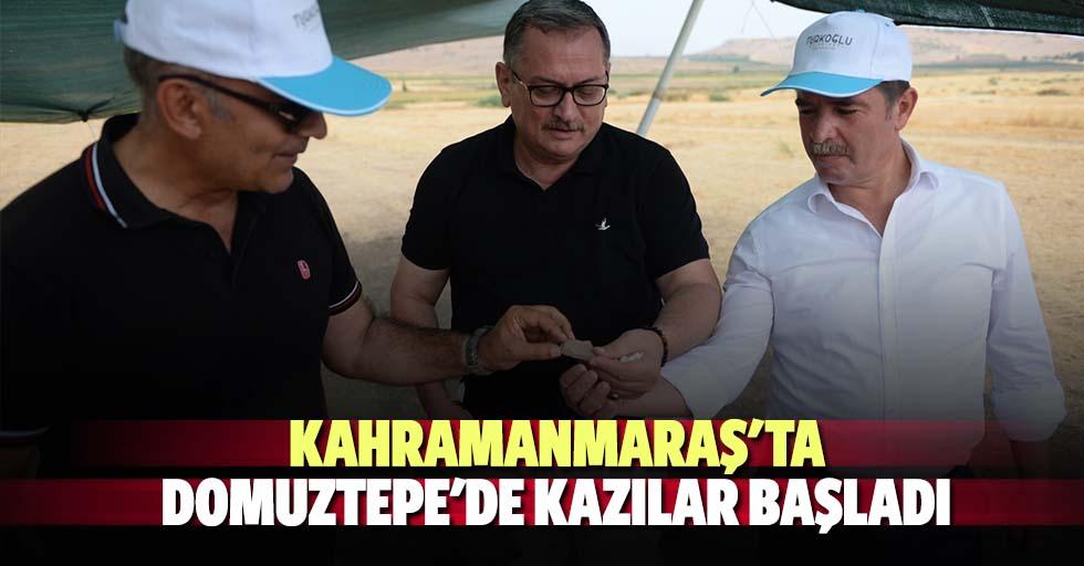 Kahramanmaraş'ta Domuztepe'de kazılar başladı