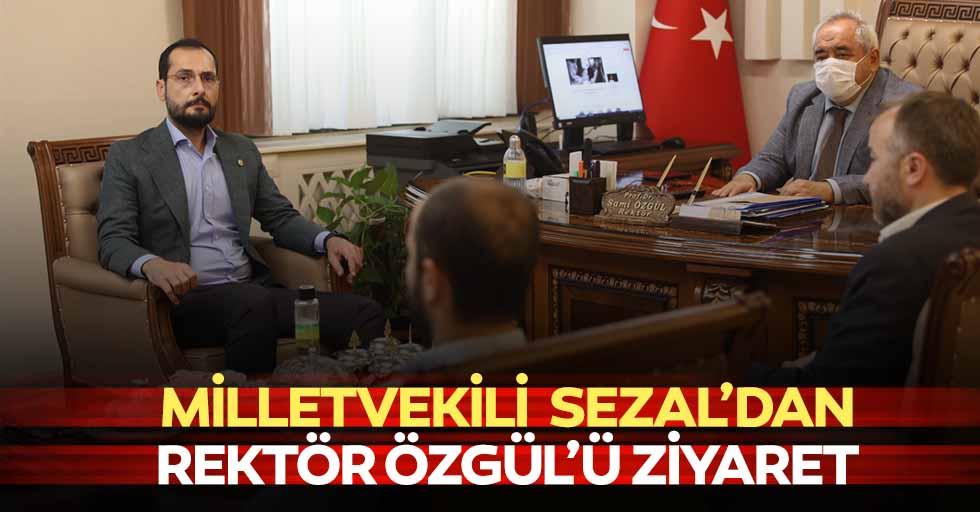 Milletvekili Sezal'dan Rektör Özgül'ü Ziyaret
