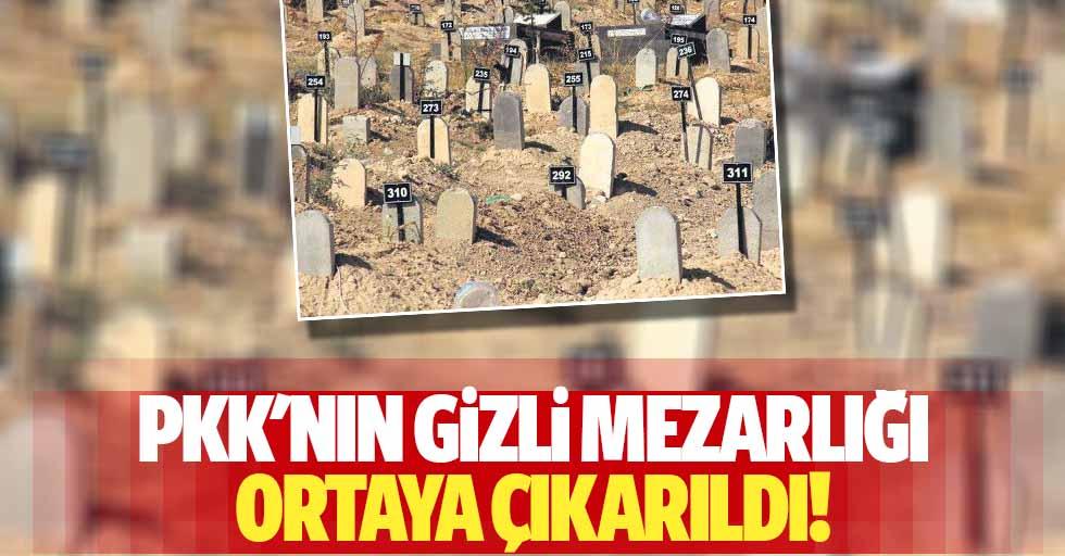 PKK'nın gizli mezarlığı ortaya çıkarıldı!