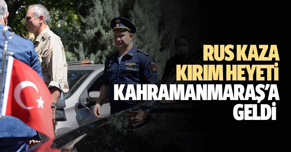 Rus kaza kırım heyeti Kahramanmaraş'a geldi