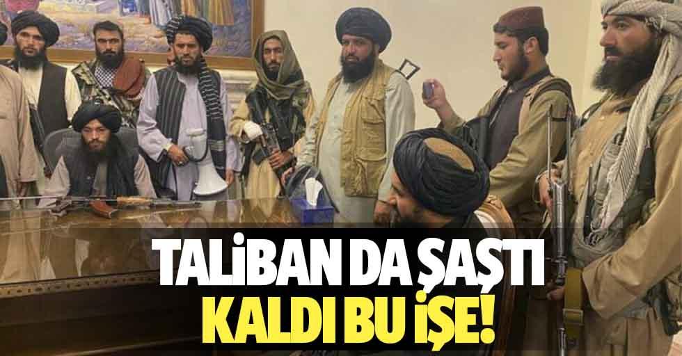 Taliban da şaştı kaldı bu işe!