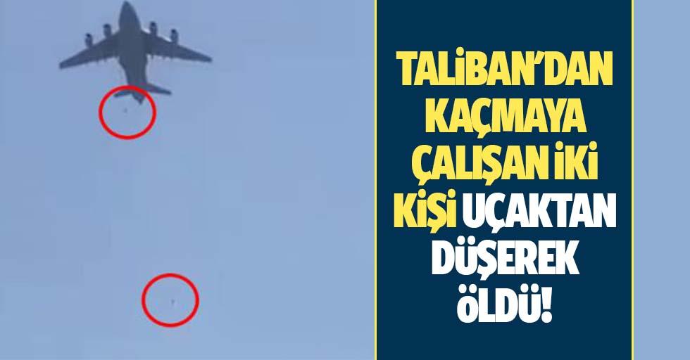 Taliban'dan kaçmaya çalışan 2 kişi uçaktan düşerek öldü