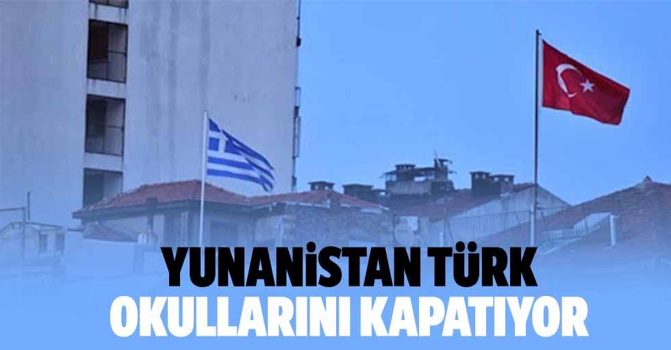Yunanistan Türk Okullarını Kapatıyor