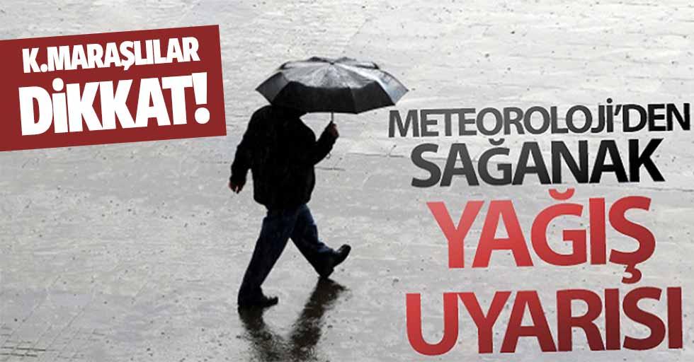 Yurtta hava durumu, Kahramanmaraş için uyarı