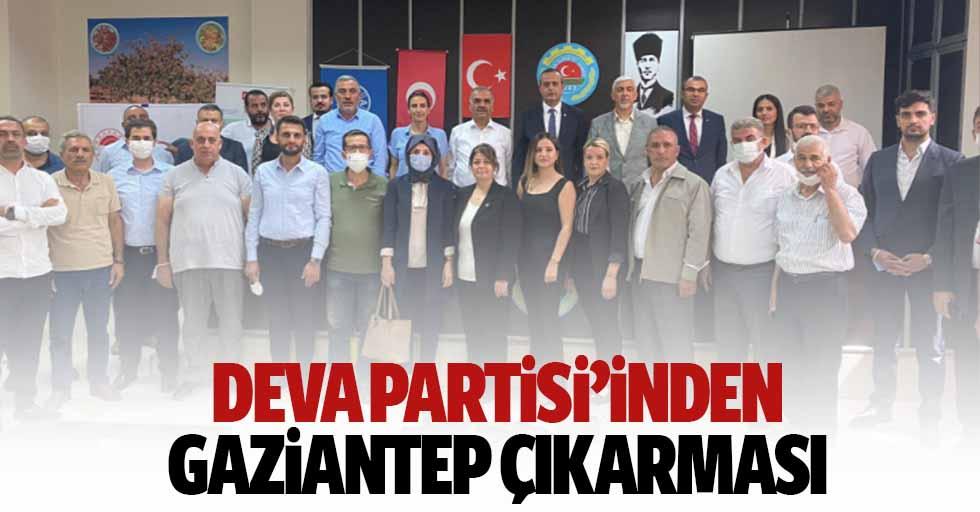 Deva Partisi'inden Gaziantep çıkarması