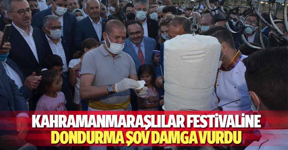 Kahramanmaraşlılar Festivaline Dondurma Şov Damga Vurdu