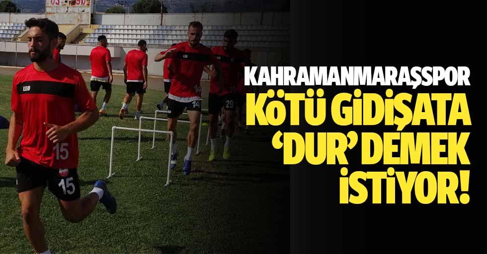 Kahramanmaraşspor Kötü Gidişata 'Dur' Demek İstiyor