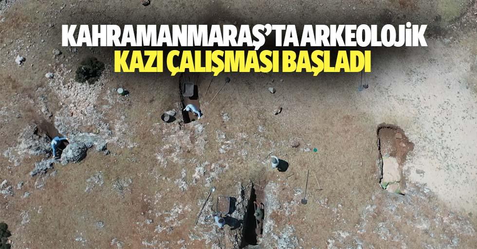 Kahramanmaraş'ta Arkeolojik Kazı Çalışması Başladı