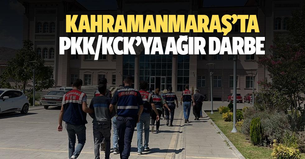 Kahramanmaraş'ta PKK/KCK'ya ağır darbe