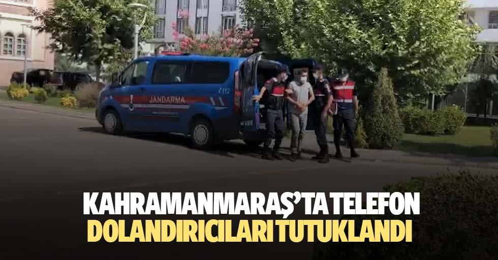 Kahramanmaraş'ta Telefon Dolandırıcıları Tutuklandı
