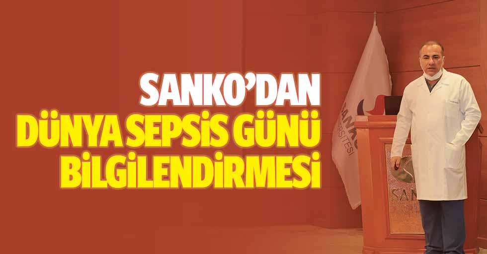 SANKO'dan dünya Sepsis günü bilgilendirmesi