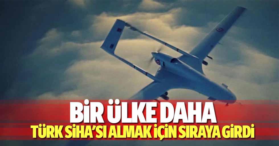 Bir ülke daha Türk SİHA'sı almak için sıraya girdi