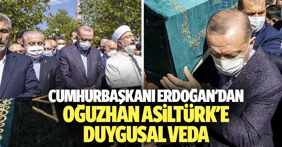 Cumhurbaşkanı Erdoğan'dan Oğuzhan Asiltürk'e Duygusal Veda