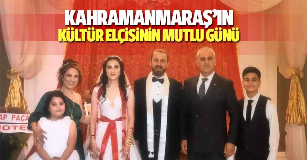 Kahramanmaraş'ın kültür elçisinin mutlu günü
